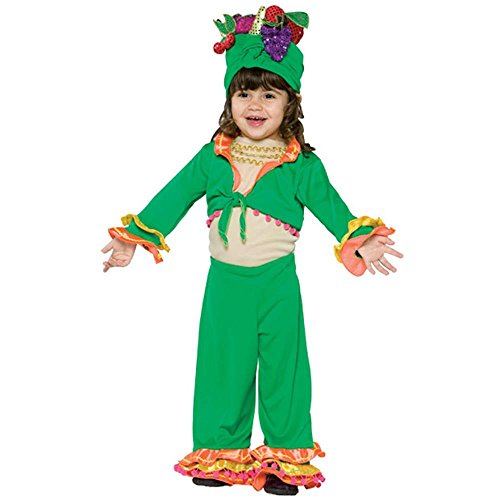 Toddler Carmen Miranda Costume (Size: (Carmen Miranda Fancy Dress Costume)