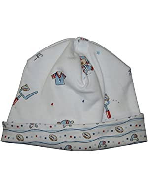 Baby-Boys Infant First Down Print Hat