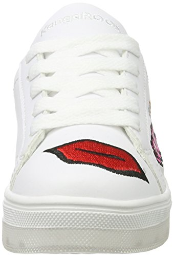 KangaROOS Enfant Kiss Wei Wei Baskets K Jr White Mixte qFqxvSrw