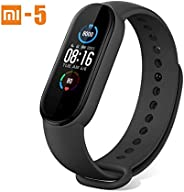 "Mi Band 5 Fitness Tracker ,Timoom Smart Watch Newest 1.1 "" Color Screen Smart Sport Activity Trackers Wat"
