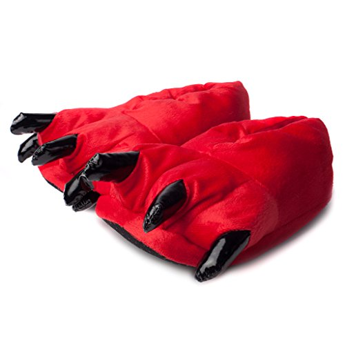 Rosso 36 A Grigio29 Forma Katara ZampaColore 1773 Pantofole Di UqSzpGLMV