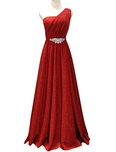 Drasawee Drasawee Rot Damen Kleid Empire Damen pw5prq8