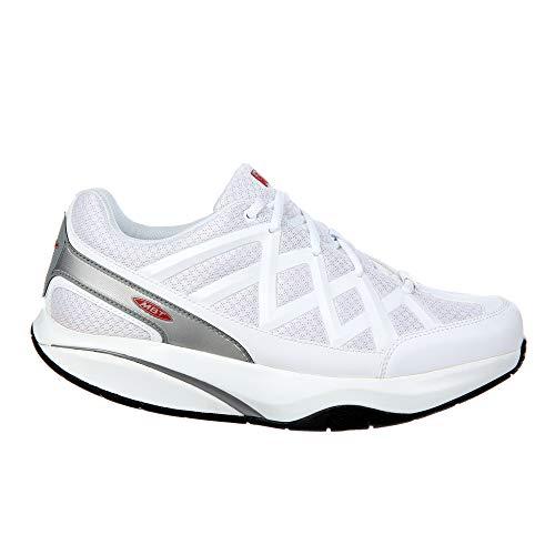 Mbt Athletic Shoes - MBT Shoes Women's Sport 3 Athletic Shoe: White 9 Medium (B) Lace