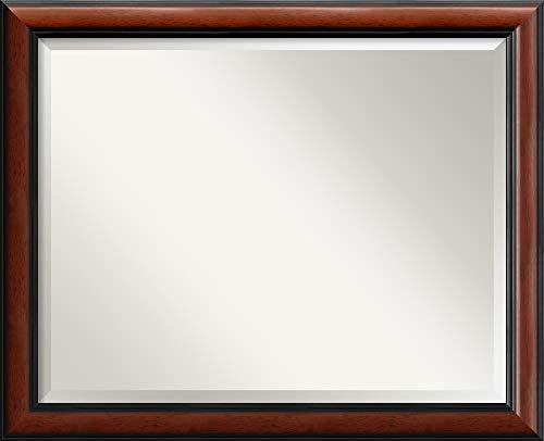 Amanti Art Framed Mirrors for Wall | Regency Mahogany Mirror for Wall -