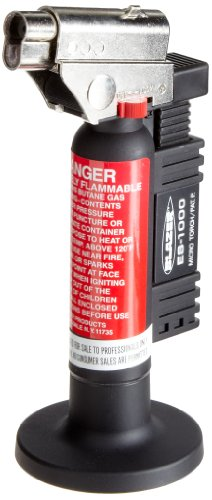 Blazer ES1000 Angled Head Butane Micro Torch, Black