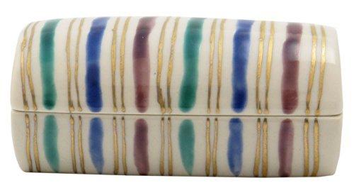 Komasuji Kiyomizu Yaki Porcelain 3.5inch Toothpick holder by Watou.asia