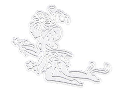 (キッズ ハウス)KIDS HOUSE 製紙工芸品 花の妖精 エンボステンプレート ペーパーエンボス 切削ステンシルの商品画像