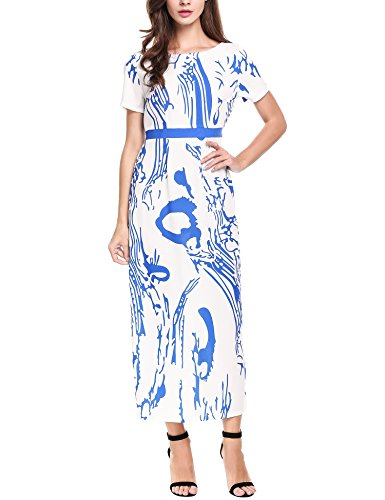 Buy maxi dress and belt - 1
