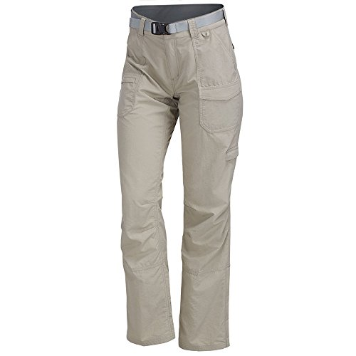 EMS Women's Camp Cargo Pants Fossil/Reg Brown 4/R (Camp Cargo Zip Off Pants)