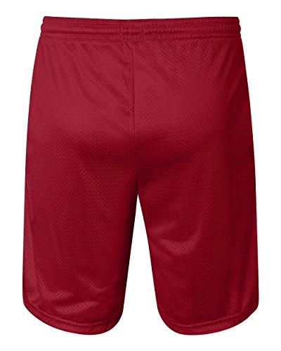 Champion 3.7 oz. Long Mesh Shorts with Pockets S