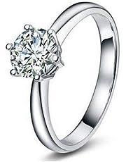 خاتم من الفضة الاسترليني عيار 925 زركونيا مكعب من جويل اورا موديل YO101523