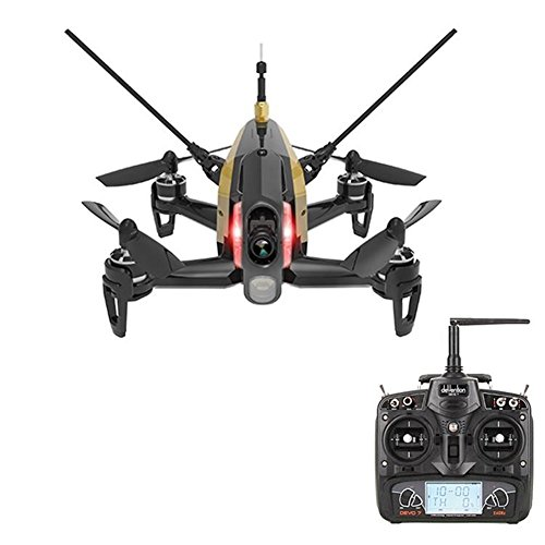 Walkera Rodeo 150 Racing Drone with 600TVL Camera Battery Charger without Remote Control Black - RTF Version