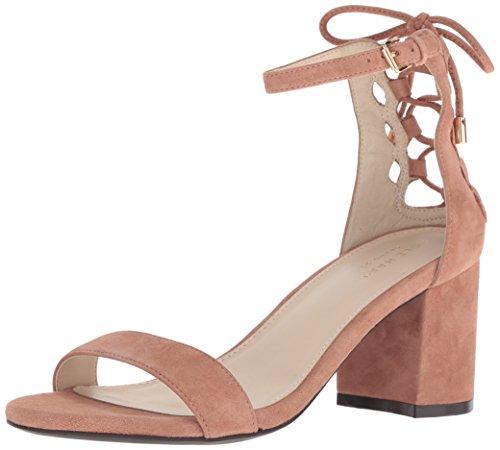 Footwear Suede Mocha (Cole Haan Womens Leah Sandal 65mm 10 Mocha Mousse Suede)