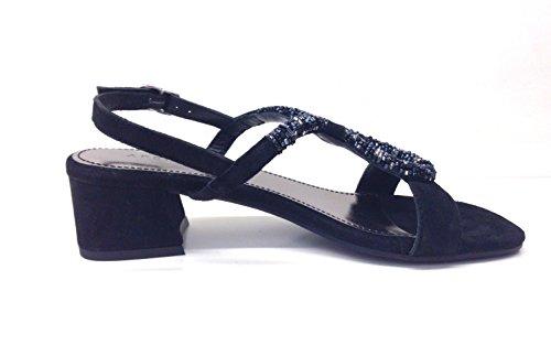 vestir mujer negro para Apepazza de Sandalias wPCqSAH