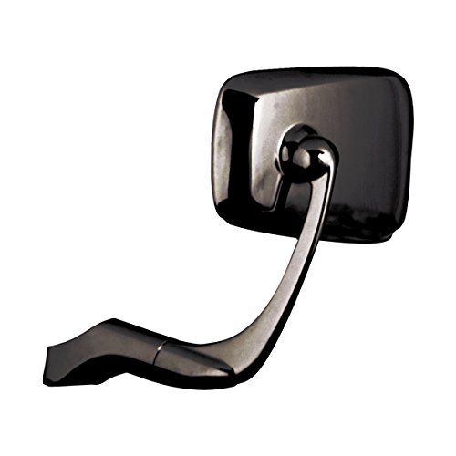 Napoleon Mirrors APT-104 Baren TT Replacement Mirror with 10mm Clockwise/Counterclockwise Bolt (Black)