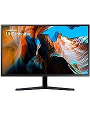 Samsung U32J592 Monitor UHD 32'' con Base a Doppio Snodo, 3840x2160, 60 hz, 4 ms, HDMI, 1.07 Milioni di Colori Supportati