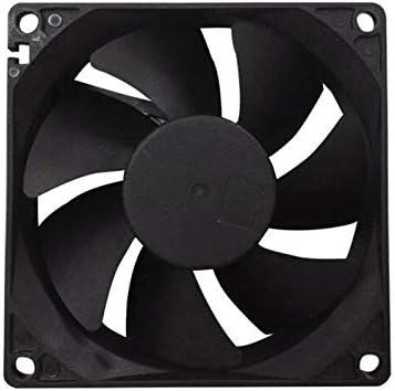 Noblik Radiator Fan USB Fan Radiator 120 mm Silent Fan Suitable for Receiver DVR Computer Cabinet Heat Dissipation 120 x 120 x 25 Mm