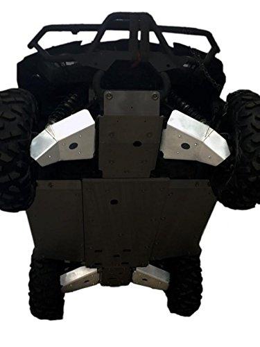 (2016-18 Yamaha Wolverine R-Spec 4-Piece Front & Rear A-Arm/CV Boot Guard Set By Ricochet 922A)