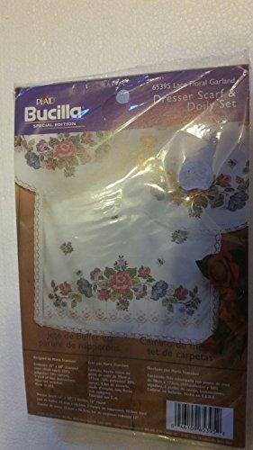 Bucilla Dresser Scarf & Doily Set