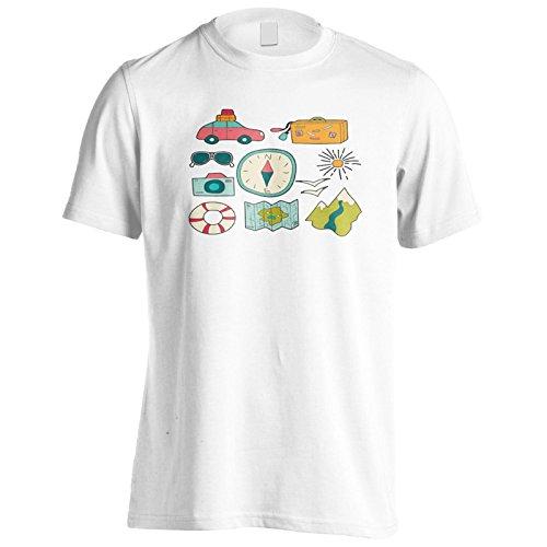Neue Outdoor-Camper Essentials Herren T-Shirt m450m