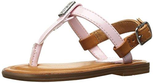 Pastel Kids Shoes (Polo Ralph Lauren Kids Girls' Gala Sandal, Pastel Pink, 8 M US Toddler)