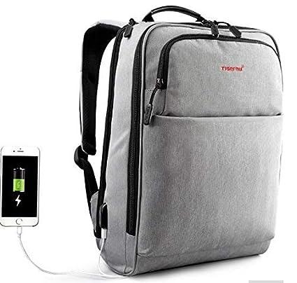 b9fac836baf7 Amazon.com: TIGERNU Business Backpack Reflective Professional Laptop ...