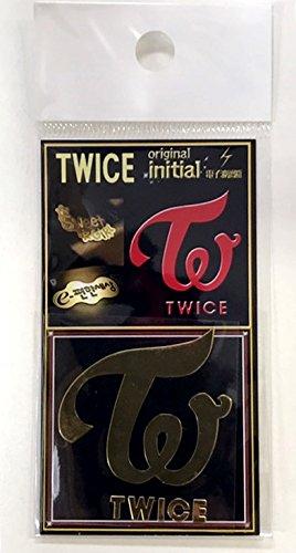 TWICE グループロゴ(TWICE)24K ゴールドシール