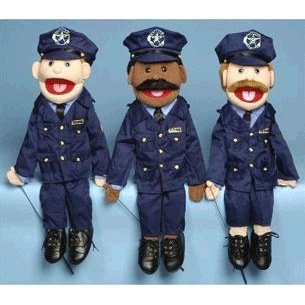 Amazoncom Policeman Full Body Puppet Toys Games