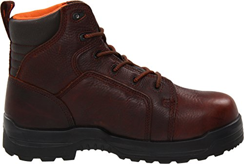 Men's Leather Men's Rockport Work RK6640 Boot Work Rockport RK6640 Work Brown dwvwXxqpnO
