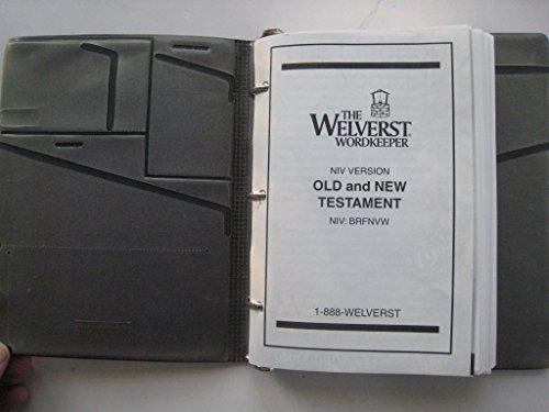 Welverst Wordkeeper NIV Holy Bible