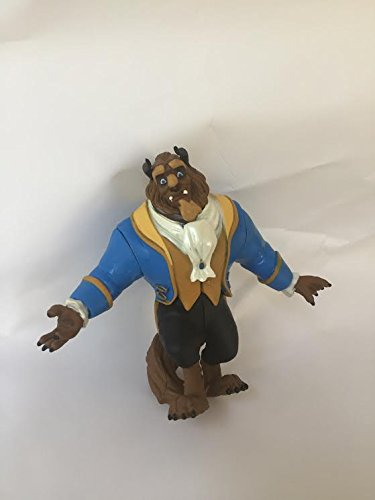 Beast Pvc Figure - Disney Beauty & the Beast Beast Loose Pvc Figure Figurine Cake Topper Toy Style may Differ