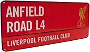 Liverpool FC Red Anfield Road L4 Sign - Large