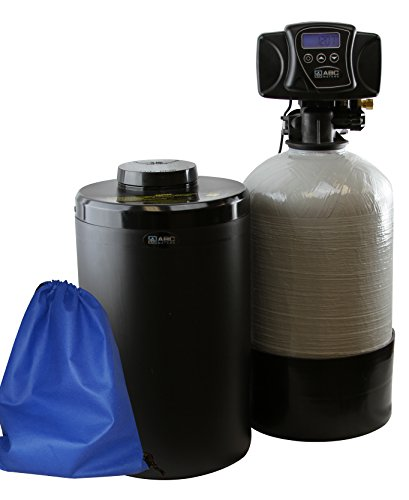 ABCwaters built Compact Fleck 5600sxt 16k TC Water Softener System - Perfect for RVs, Mobile Homes, Tiny Homes, Condo & Cabins - Program & It Runs Automatically! by ABCwaters