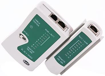 RJ11 and RJ12 Network LAN Cable Tester with Remote RJ45