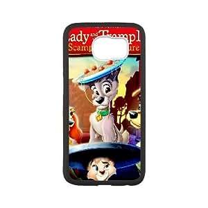 Samsung Galaxy S6 White phone case Disney Cartoon Lady and the Tramp II Scamp's Adventure EYB3553694