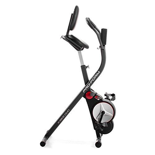 Proform Duo Exercise Bike Folding Exercise Bike