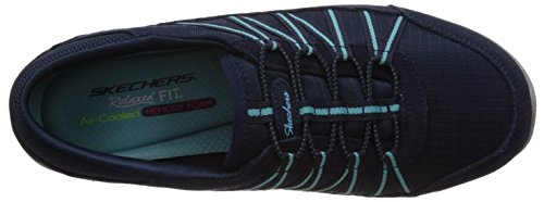 Skechers Sport Womens Dreamchaser Romantic Trail Skylark Fashion Sneaker Navy/Turquoise RcYZWFQ0