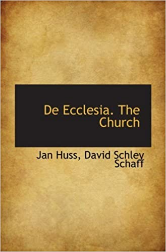 Book De Ecclesia. The Church by Jan Huss (2009-10-01)