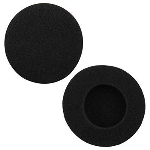 Demarkt 6X Schaumstoff Ohrpolster Sponge Covers für Kopfhörer Earbud Headphone Earpad Schwarz 5cm