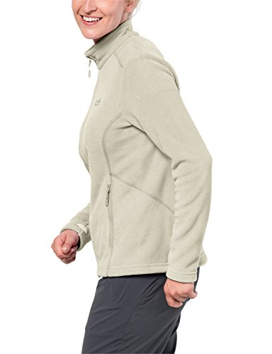 sand Fleece Women's Wolfskin white Jacket Jack Moonrise WqpfFwFR