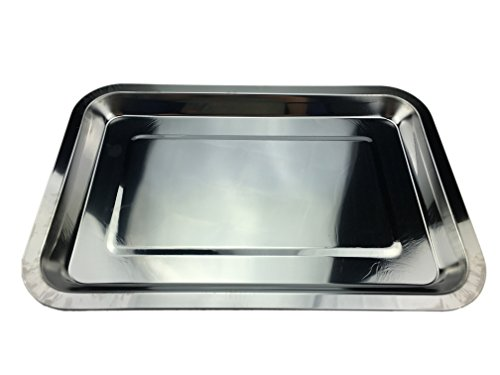Ospard Stainless Steel Flat Type Plate Tray CD-37 (Small) (Stainless Steel Flat Plate compare prices)