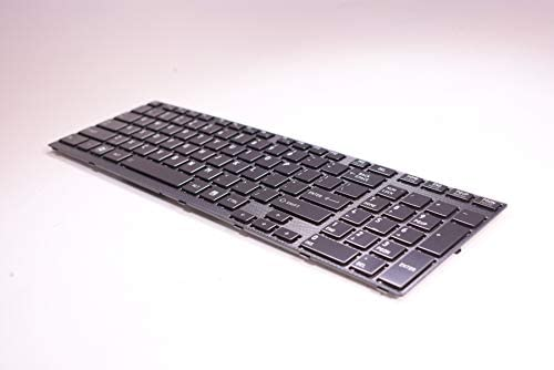 FMS Compatible with K000101220 Replacement for Toshiba Keyboard Us Black A665-S5185 A660-PSAW0 A660-PSAW6