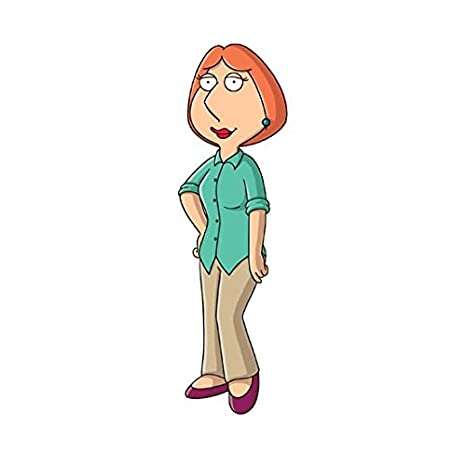 Family Guy Lois Griffin Standing Smiling  Inch Photo At Amazons Entertainment Collectibles Store