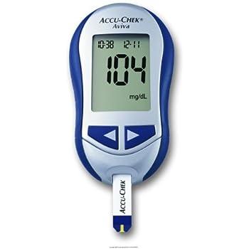 Amazon Com Accu Chek Aviva System Blood Glucose Meter