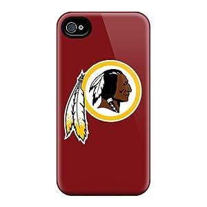 JonBradica Iphone 4/4s High Quality Cell-phone Hard Cover Customized Colorful Washington Redskins 2 Skin [ibZ17557Iqok]