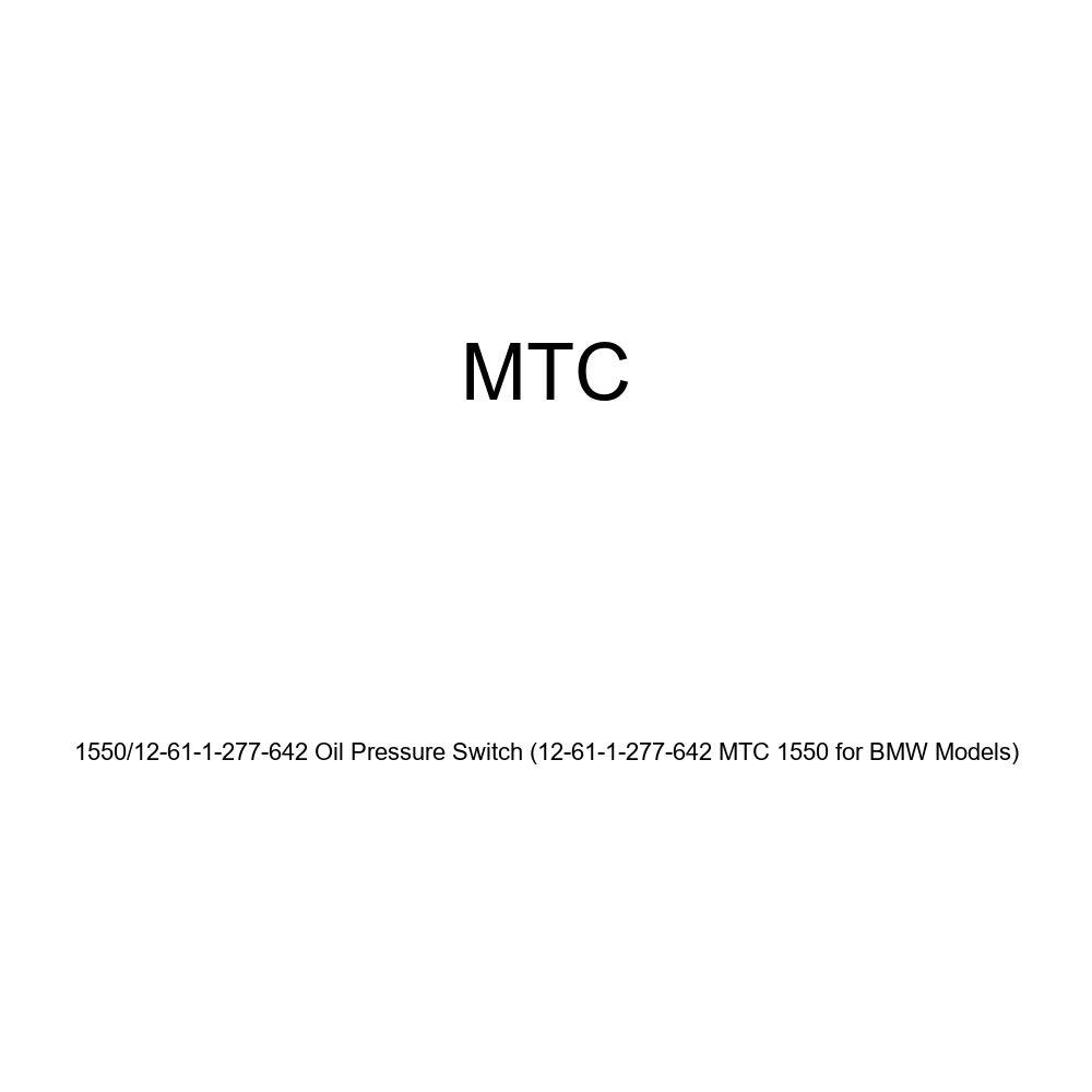 MTC 1550//12-61-1-277-642 Oil Pressure Switch 12-61-1-277-642 MTC 1550 for BMW Models