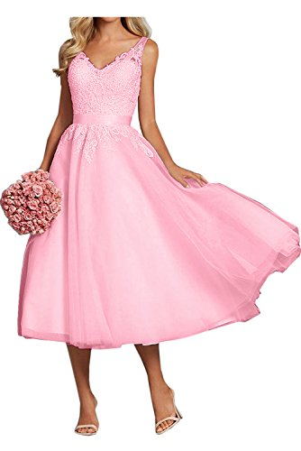 Vestido trapecio para Rosa mujer 46 Topkleider 6Tq8wdZq