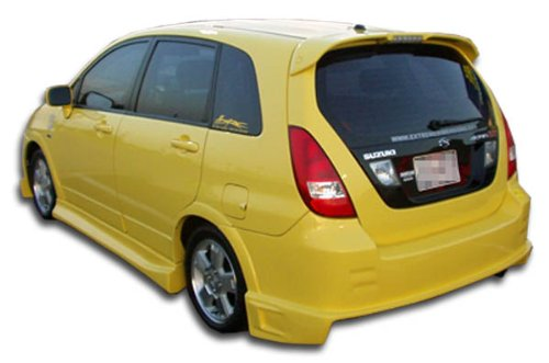 (Duraflex ED-FOB-978 Drifter Rear Bumper Cover - 1 Piece Body Kit - Compatible For Suzuki Aerio 2003-2006)