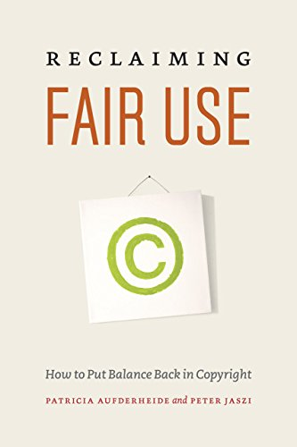 R.e.a.d Reclaiming Fair Use: How to Put Balance Back in Copyright Z.I.P