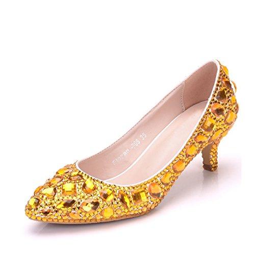 Plateforme Gold femme Minitoo 6cm Heel RaqaWwdF